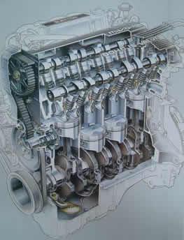 Motor Mazda 323 F BG